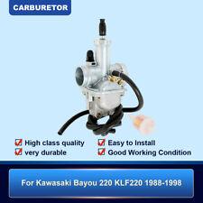Brand New Carb Carburetor For Kawasaki Bayou KLF220 KLF 220 1988-1998 ATV Quad