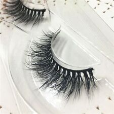 Soft 100% Real 3D Mink Fur False Eyelshes Mutilayers Eye Lashes Extension