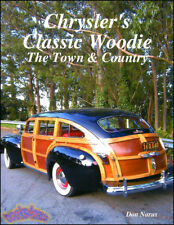 CHRYSLER TOWN & COUNTRY WOODIE BOOK NARUS TOWN&COUNTRY 1941-1988 CAR WAGON WOOD