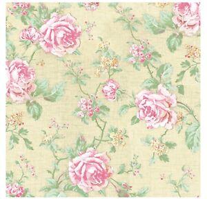 Floral Napkins for Decoupage Paper Cream Rose Flower Serviettes Lunch 33cm x 20