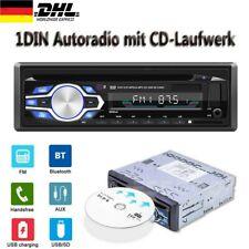 1 DIN Autoradio mit CD-Player Bluetooth Freisprech-Einrichtung USB SD MP3 AUX