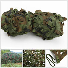 Woodland Stealth Camouflage Camo Net Shooting Hunting Hide Army 4M x 1.5M Cover