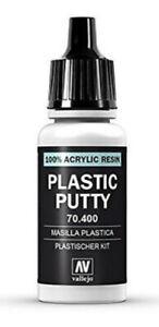 Plastic Putty (Acrylic resin) for Model & Hobby (17ml bottle) (Vallejo 70400)