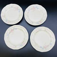 """Pfaltzgraff Set of 4 Salad Plates 7-3/8"""" Tea Rose Pattern"""