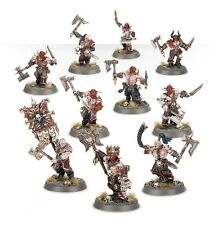 AS11 Warhammer Age Of Sigmar Chaos - 10 x Blood Reavers Marauders + Options