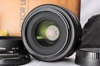 """Near Mint"" Nikon AF-S DX 35mm F1.8 G w/Box Hood Pouch From Japan raku001"