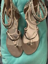 Very Volatile Los Angeles Women's Gladiator Strappy Sandal Shoes, Sz 10 NEW