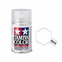 Tamiya 85013 TS-13 Clear Coat Spray Lacquer Paint Aerosol 100ml