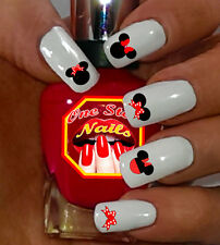 Disney Minnie  Mouse Bow Nail Art Decals. MB001-74