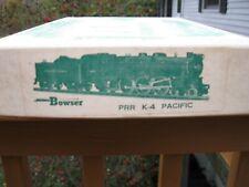 Bowser Pennsylvania K-4 Pacific Steam Locomotive Kit 4-6-2 - Unbuilt in OB