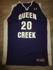 Queen Creek Bulldogs High School Basketball Team Under Armour Jersey XL