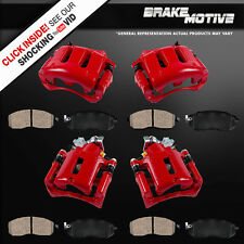Front and Rear Brake Calipers & Pads 2005 2006 2007 - 2010 FORD MUSTANG 4.0L V6