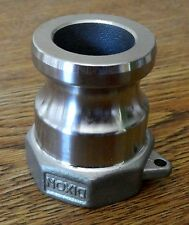 "Dixon A-100 cam lock & groove adapter, 1"" Female NPT 316 SS, NEW, Free Shipping"