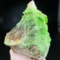 Apple Green Pyromorphite on Multisided Matrix, Daoping, China-py10010