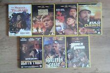 SEVEN CLASSIC WAR MOVIES DVDs