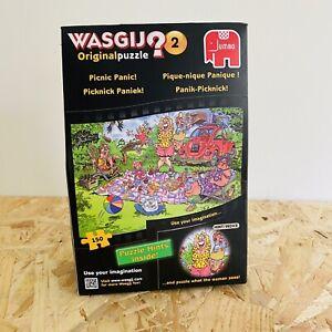 Wasgij No. 2 Picnic Panic 150 Piece Jigsaw Puzzle - Brand New