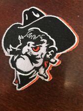 "OSU Oklahoma State Cowboys ""A&M College"" Vintage Embroidered Iron On Patch 2.5"""
