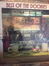 The DOOBIE BROTHERS Best Of  hand signed record album autographed!