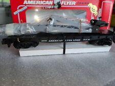 AMERICAN FLYER/Lionel #6-49009 Flatcar w/Derrick, Lot # 710