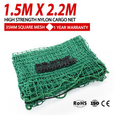 1.5m x 2.2m Cargo Net 35mm Square Nylon Mesh Bungee Cord for Ute Truck Trailer