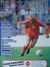 Programm 1986/87 FC Bayern München - Kaiserslautern