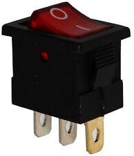 Interruptor conmutador basculantes de botón SPST ON-OFF 3A/250V, 2 posiciones