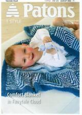 PA3964B BABIES DK COMFORT BLANKET KNITTING PATTERN SIZES AS IN PHOTO 3