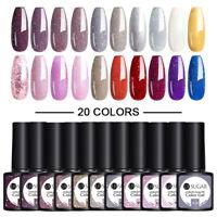 20Pcs UR SUGAR 7.5ml Gel Polish Soak Off UV LED Gel Varnish Colorful Nail Art