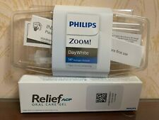 Philips ZOOM! 14% DayWhite  3 syringes kit+1 Relief ACP