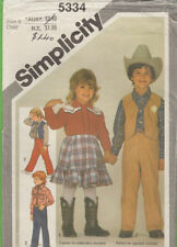 Simplicity Child Vintage Sewing Patterns