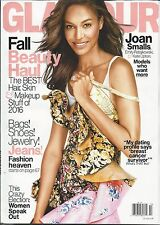 Glamour magazine Joan Smalls Fall beauty Best hair skin and makeup tips Jeans