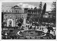 Cartolina - Postcard - Catania - Villa Bellini - animata - 1942  - VG