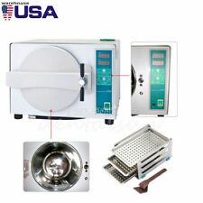 18l Dental Automatic Autoclave Steam Sterilizer Dryable Medical 1100w Drying Usa