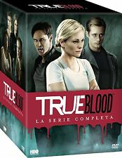 TRUE BLOOD - LA COLLEZIONE COMPLETA (33 DVD) COFANETTO SERIE CULT HORROR