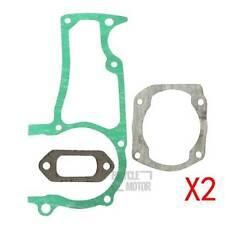 Muffler Crankcase Gasket Kit For Husqvarna 362 365 372XP Cylinder 2 Pack
