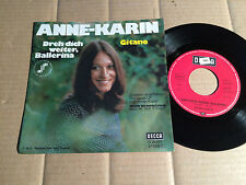 "Anne-Karin-girati avanti, ballerina/GITANO-Single 7"" (11)"