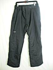 Ski Gear Black Ski Snowboard Pants Men's Size L