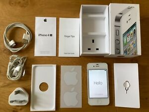 Apple iPhone 4s 32GB - White (Unlocked) A1387 Excellent original. Complete / Box