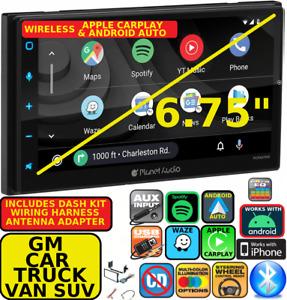 GM CAR-TRUCK-VAN-SUV WIRELESS APPLE CARPLAY ANDROID AUTO NAVIGATION CAR STEREO
