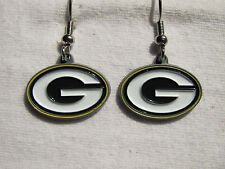 Green Bay Packers Officially Licensed NFL Dangle Earrings