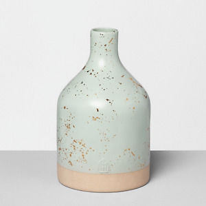 Speckled Green Jug Vase by Hearth & Hand with Magnolia
