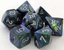 Dungeons & Dragons Fantasy 16mm 7 Piece Dice Set: Festive Green 27445