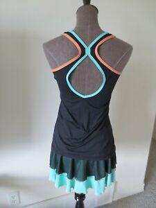 Sofibella Tennis Skort Skirt & Tank Top Outfit Set - S