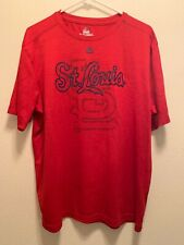 Majestic Cool Base Shirt Mens Large St Louis Cardinals