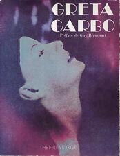 GRETA GARBO - Henri Veyrier - 1976 - LIVRAISON GRATUITE