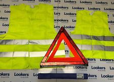 Yellow Vis High Visibility Vest Adult & Childs & Vauxhall Car Warning Trangle