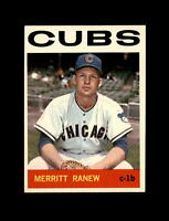1964 Topps Baseball #78 Merritt Ranew (Cubs) NM