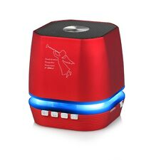 Portable Mini Bluetooth Speaker for iPhone, Samsung S8, Other Smartphones,Red