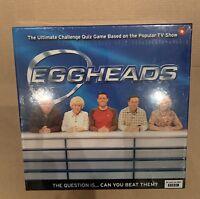 EGGHEADS - BBC TV GAME - By BRITANNIA GAMES - **NEW & SEALED**