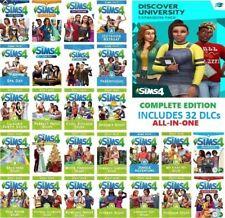 The Sims 4 + All Expansions / 32 DLC / PC & MAC / ORIGIN